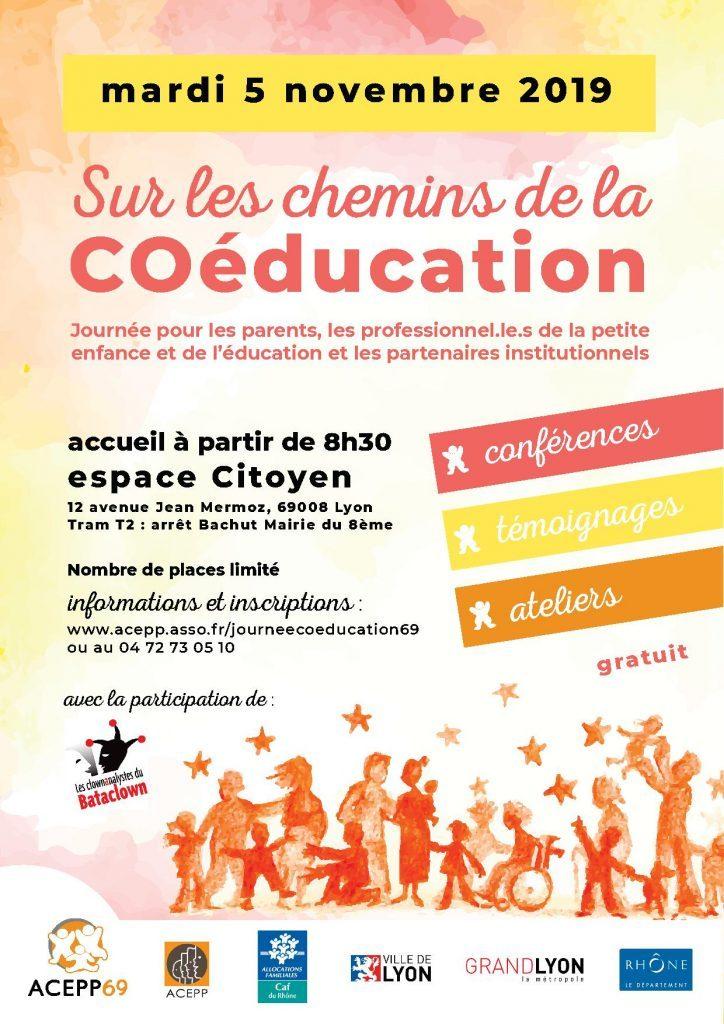 Journée de coéducation à l'Acepp Rhône le 5 novembre 2019